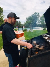 Jeff at the grill!